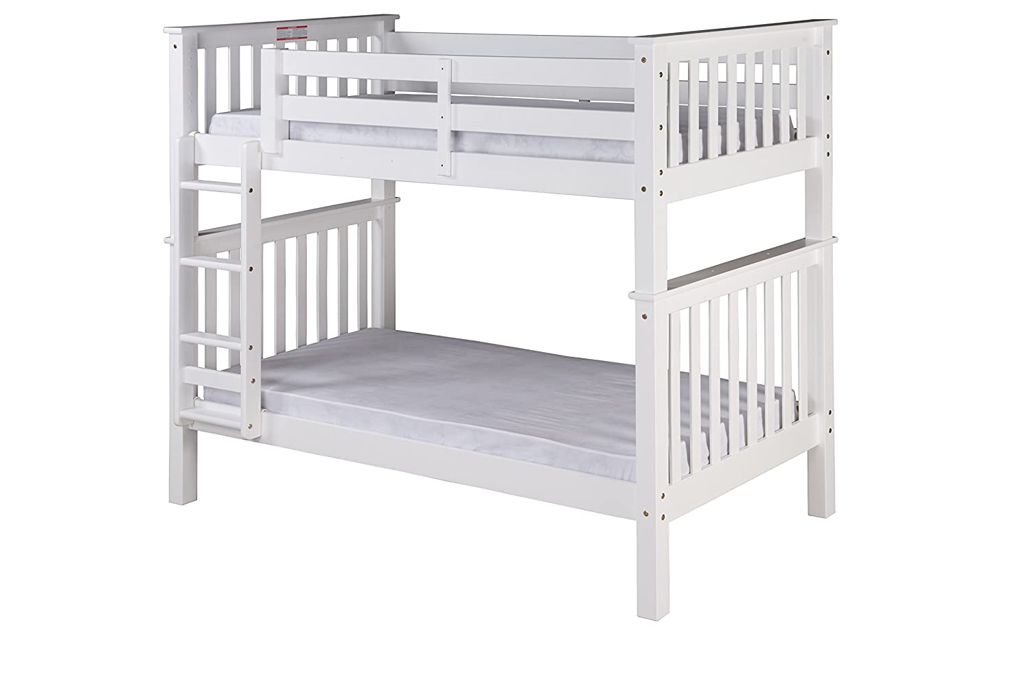 Camaflexi Santa Fe Bunk, Twin over Twin, White
