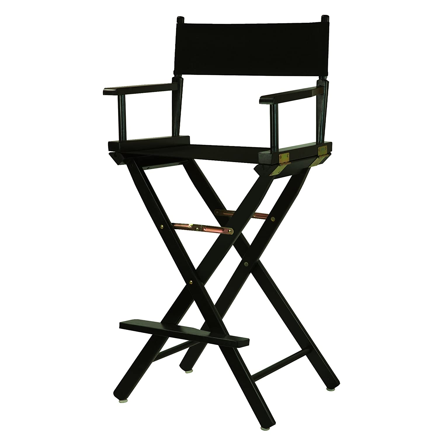 "Amazon Casual Home 30"" Director s Chair Black Frame with"