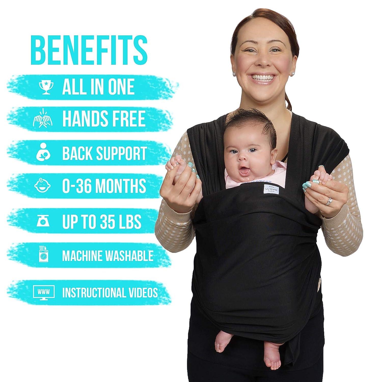130b52e978d Amazon.com   Baby Wrap Carrier