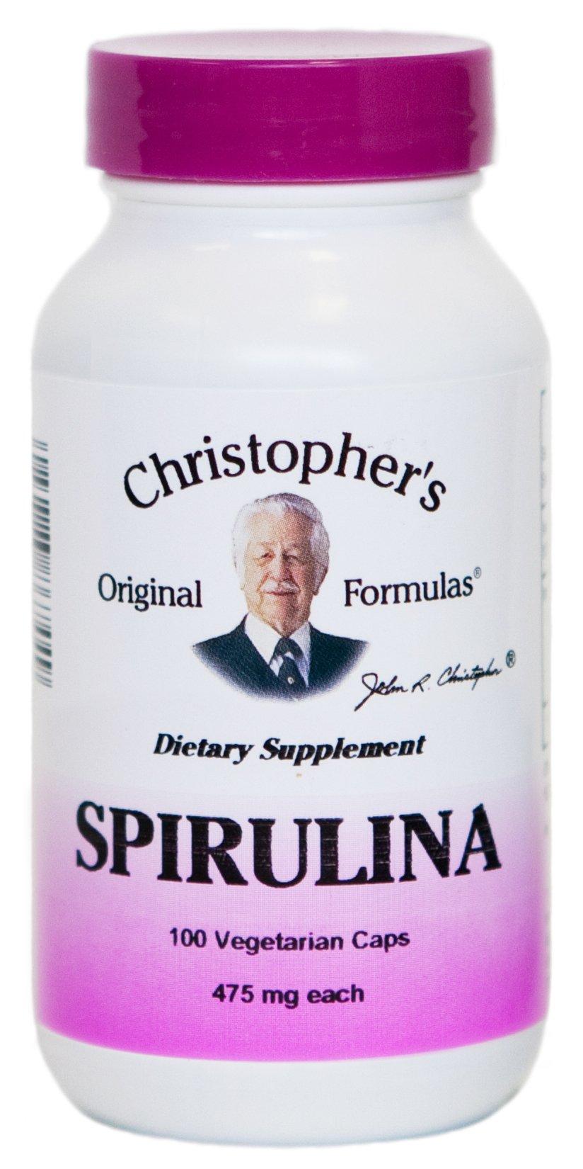 Spirulina Dr. Christopher 100 VCaps
