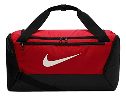 perdonar único Intuición  Buy Nike Brasilia Training Duffel Bag (Red/Black/White, Small) at Amazon.in