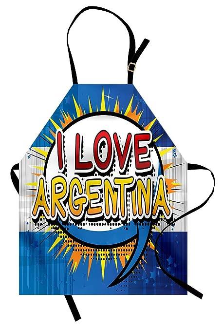 Delantal de Argentina, estilo del cómic Diseño punteado del arte ...