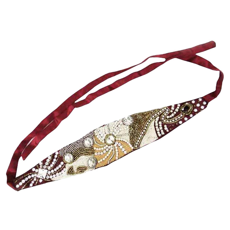 Perlé Ruban Cheveux Bandeau Accessoire De Mode Bande Inde Cadeau De Bijoux Pour Elle Indianbeautifulart HB11