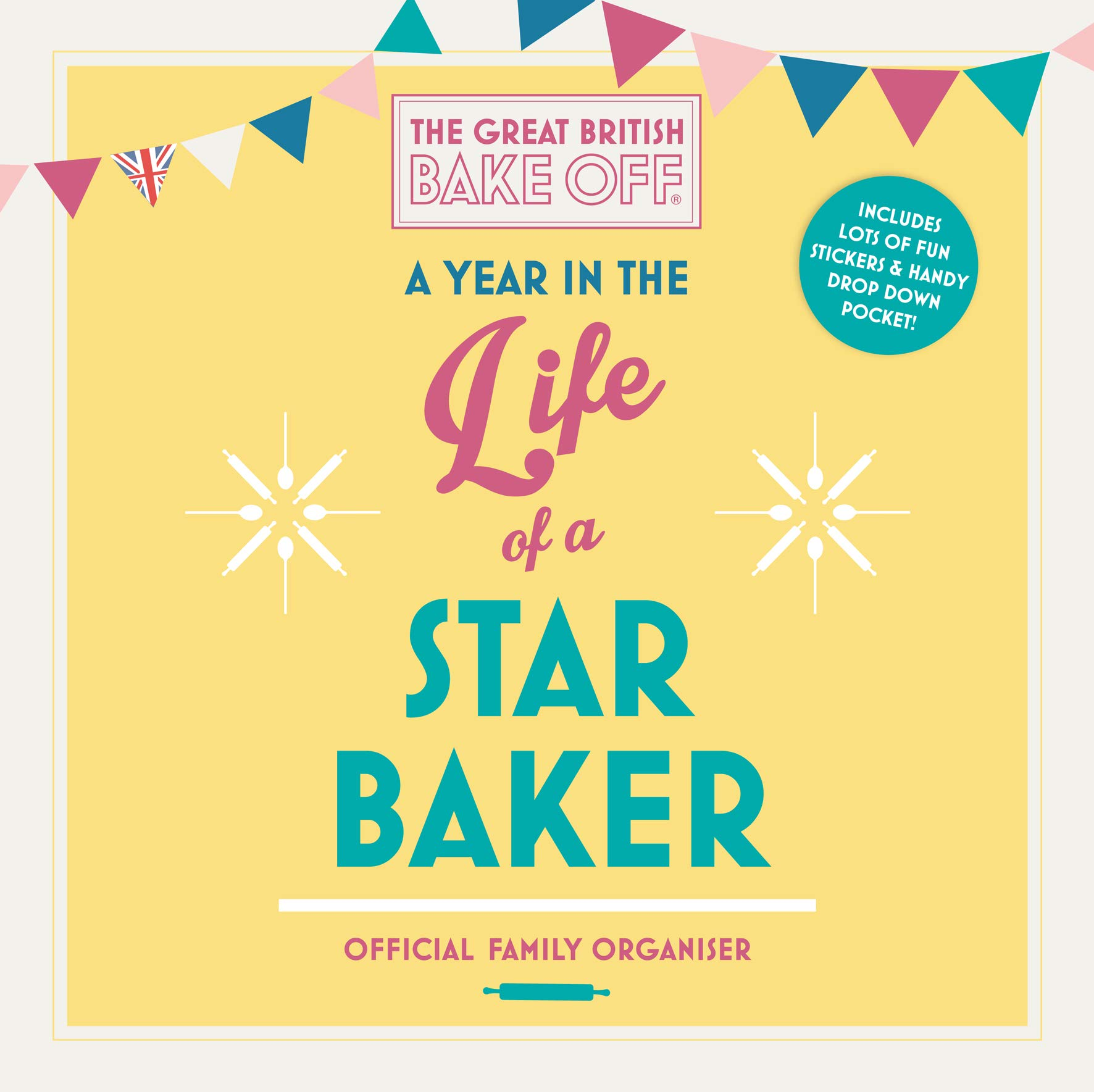 Great British Bake Off 2020 Family Organiser Calendar - Official ...