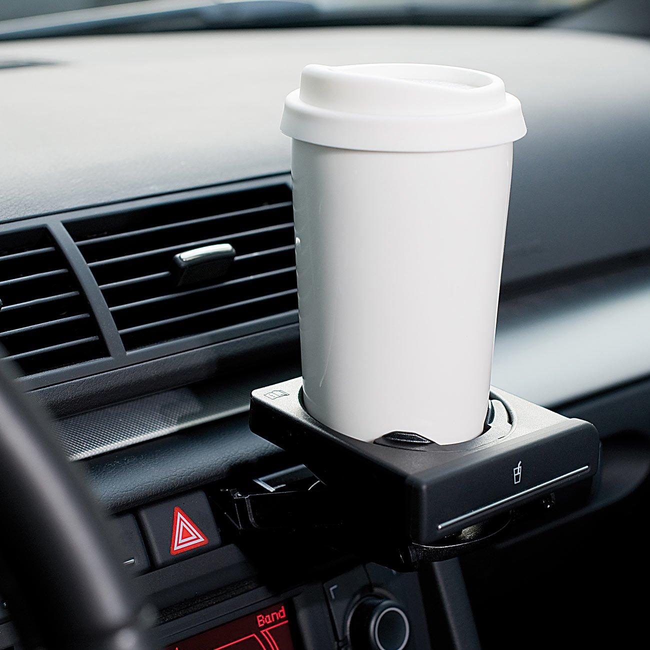 250 ml doppelwandig Thermo-Becher Rosenstein /& S/öhne Kaffeebecher: 2 Coffee-to-go-Becher aus Keramik Silikondeckel
