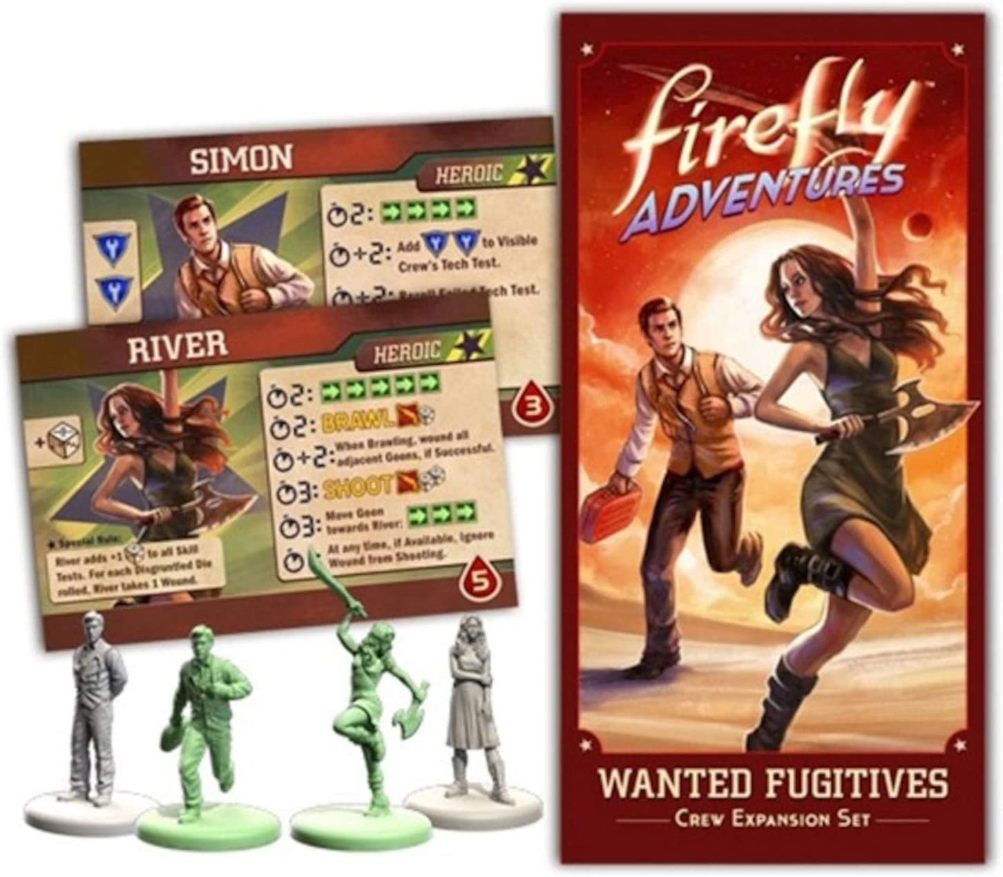 Firefly Adventures Respectable Folk Crew Expansion Set - English ...