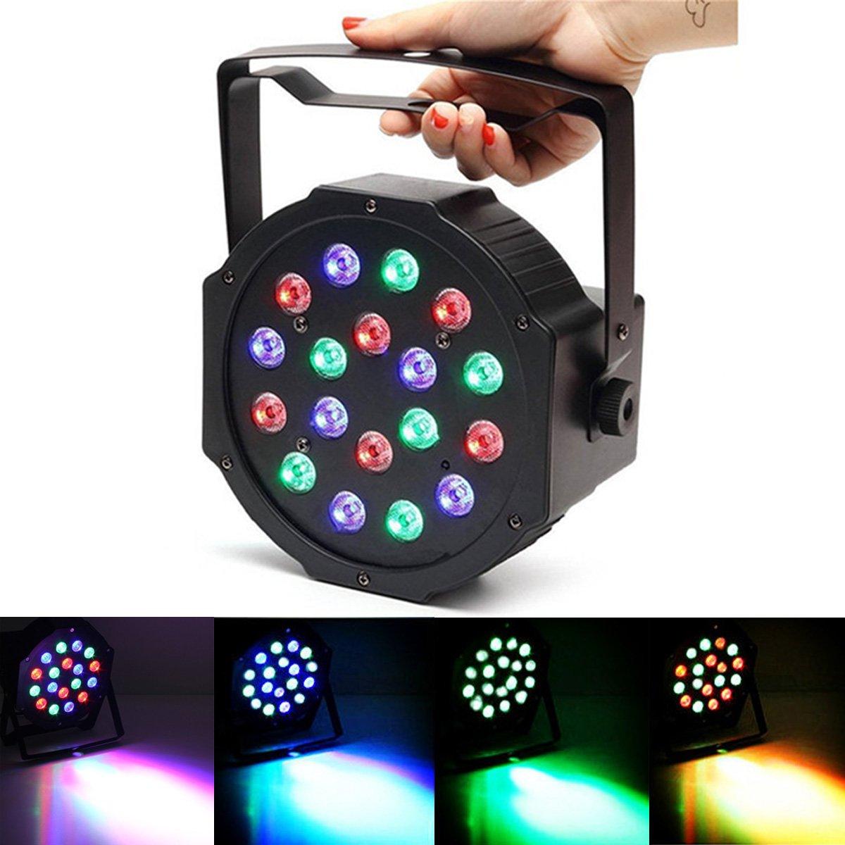 18w Lampe Solmore Disco Par De Led Scène Projecteur Dmx512 rxCBWQdoe
