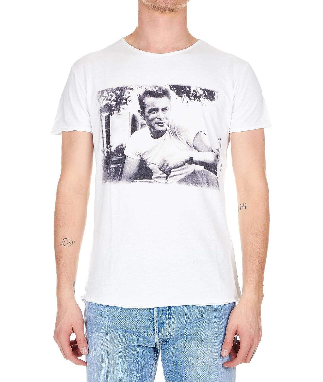 1921 Luxury mode Homme 00741 Blanc T-Shirt   Printemps été 19