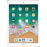 Apple iPad 9.7 with WiFi, 128GB- Gold (2017 Newest Model) (Renewed)