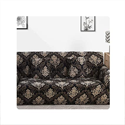 Amazon.com: Holiday-Online-Store Gray Sofa Cover Stretch ...