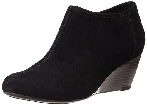 863ebb64d0d Clarks Ladies Brielle Abby Black Wedge Boots