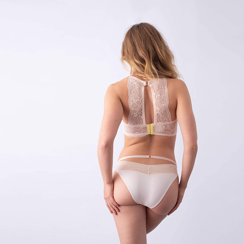 ace68de30 Heroine Plunge Shell Lemonade Nursing Bra - Flexi Underwire at Amazon  Women s Clothing store