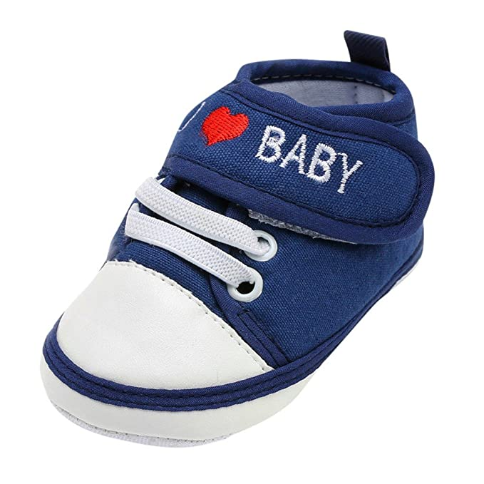 36e06971e YanHoo Zapatos Deportivos Infantiles recién Nacidos Carta de Amor Amor  Zapatos de bebé Zapatos de bebé Zapatos de niño Zapatos Suaves  Antideslizantes ...