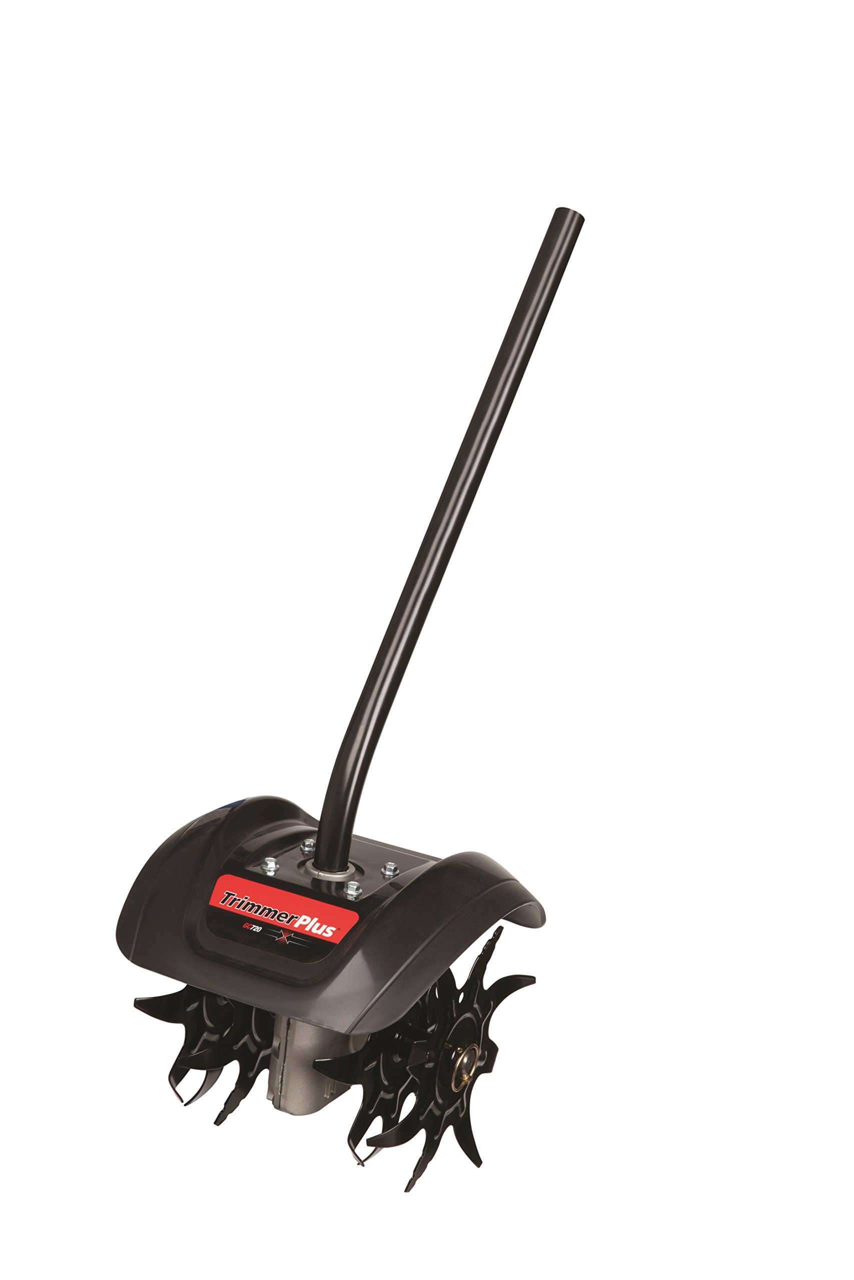 TrimmerPlus GC720 Garden Cultivator Attachment with Four Premium Tines for Attachment Capable String Trimmers, Polesaws, and Powerheads by Trimmer Plus