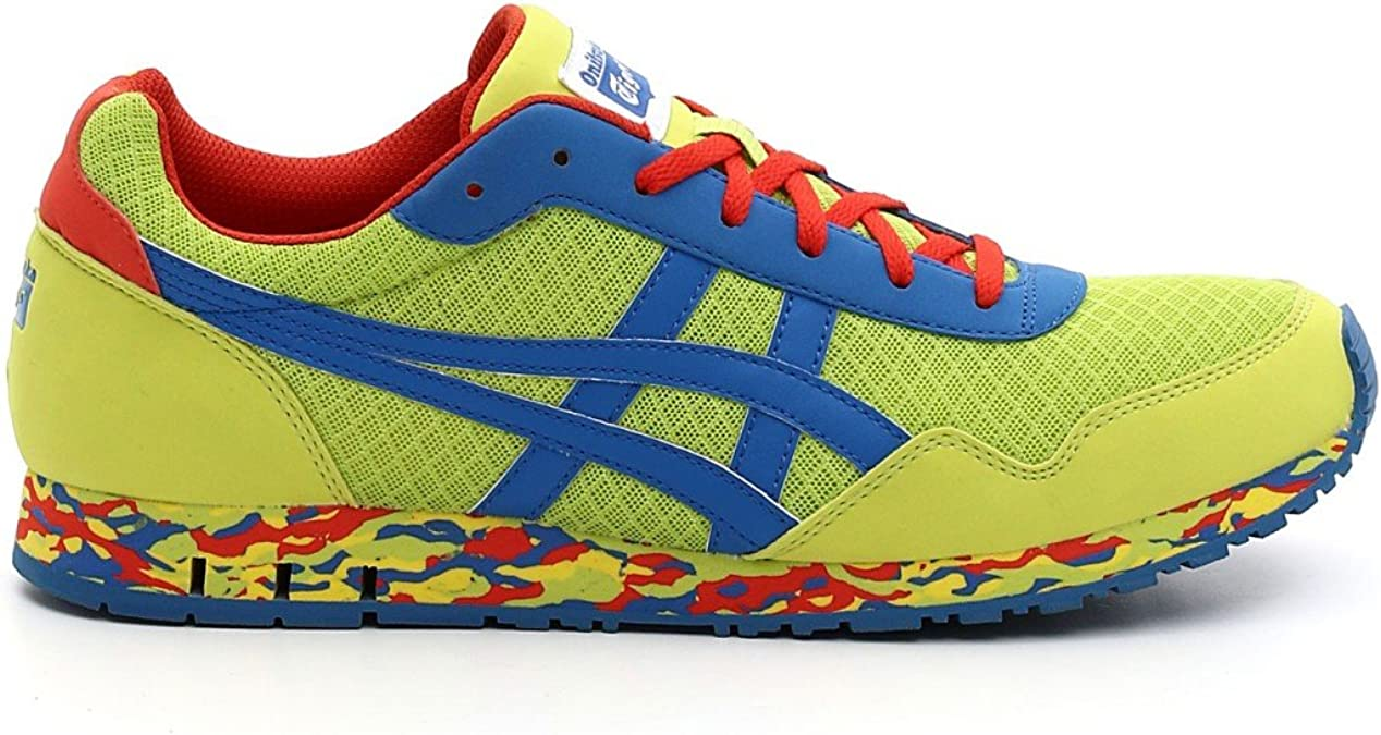 Asics - Zapatillas para hombre lime green - blue - red: Amazon.es ...