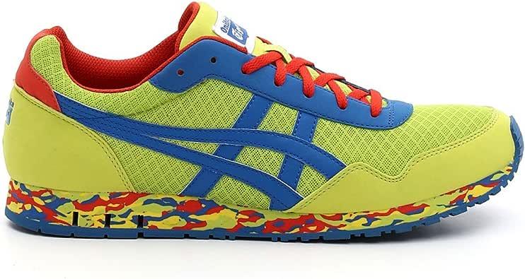 Asics - Zapatillas para hombre lime green - blue - red: Amazon.es: Zapatos y complementos