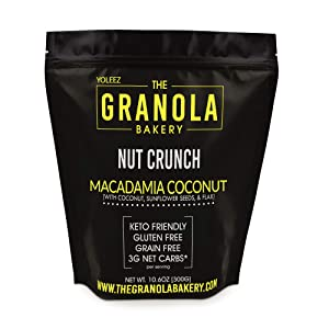 Granola Bakery - Keto Candied Macadamia Nuts