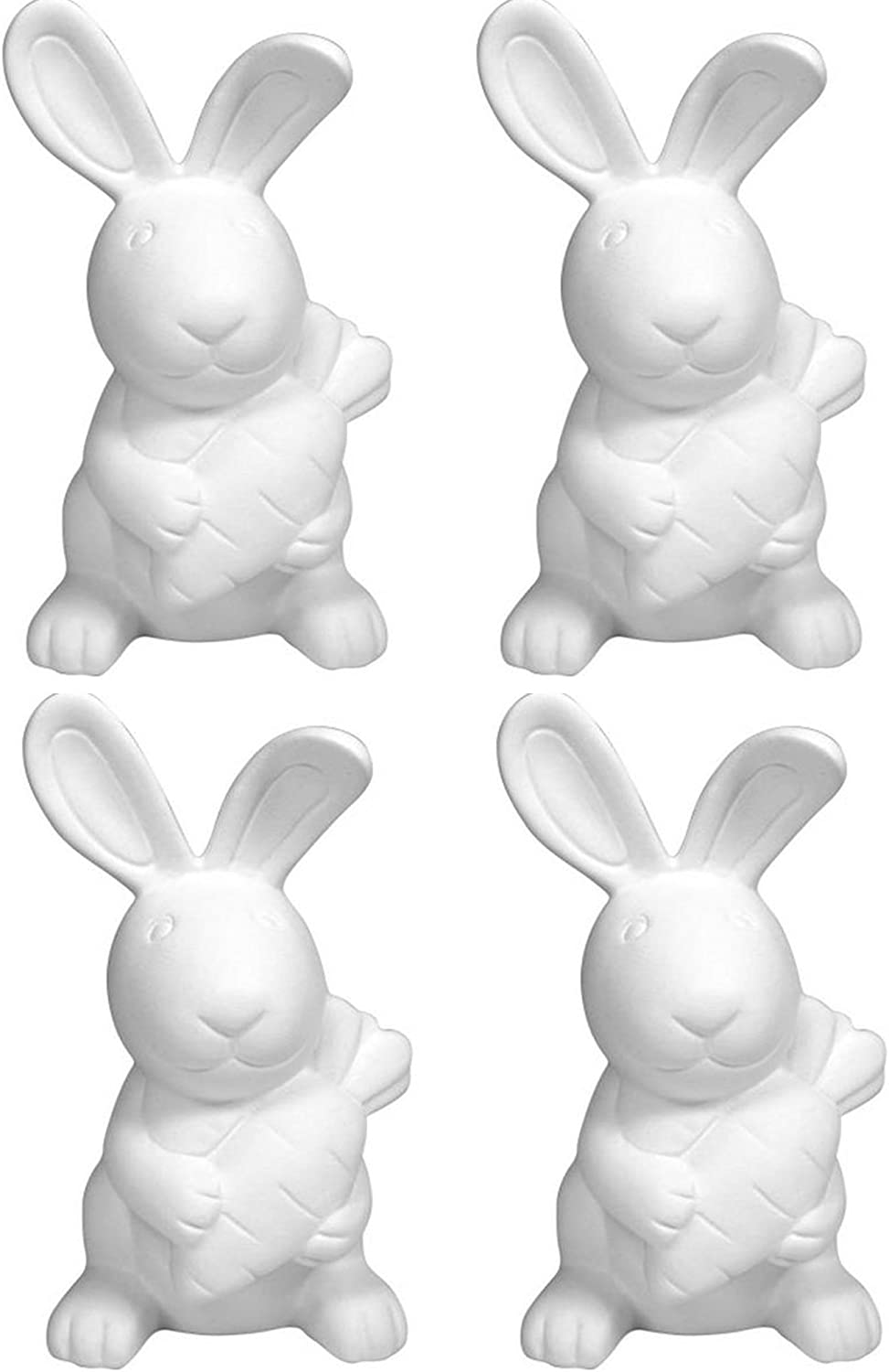 The Garden Rabbit - Set of 4 - Host Your Own Adorable Ceramic Painting Party