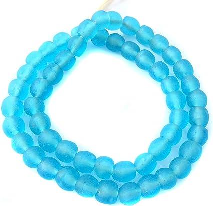 African beads Krobo powder glass trade beads Ghana recycled glass bracelet new
