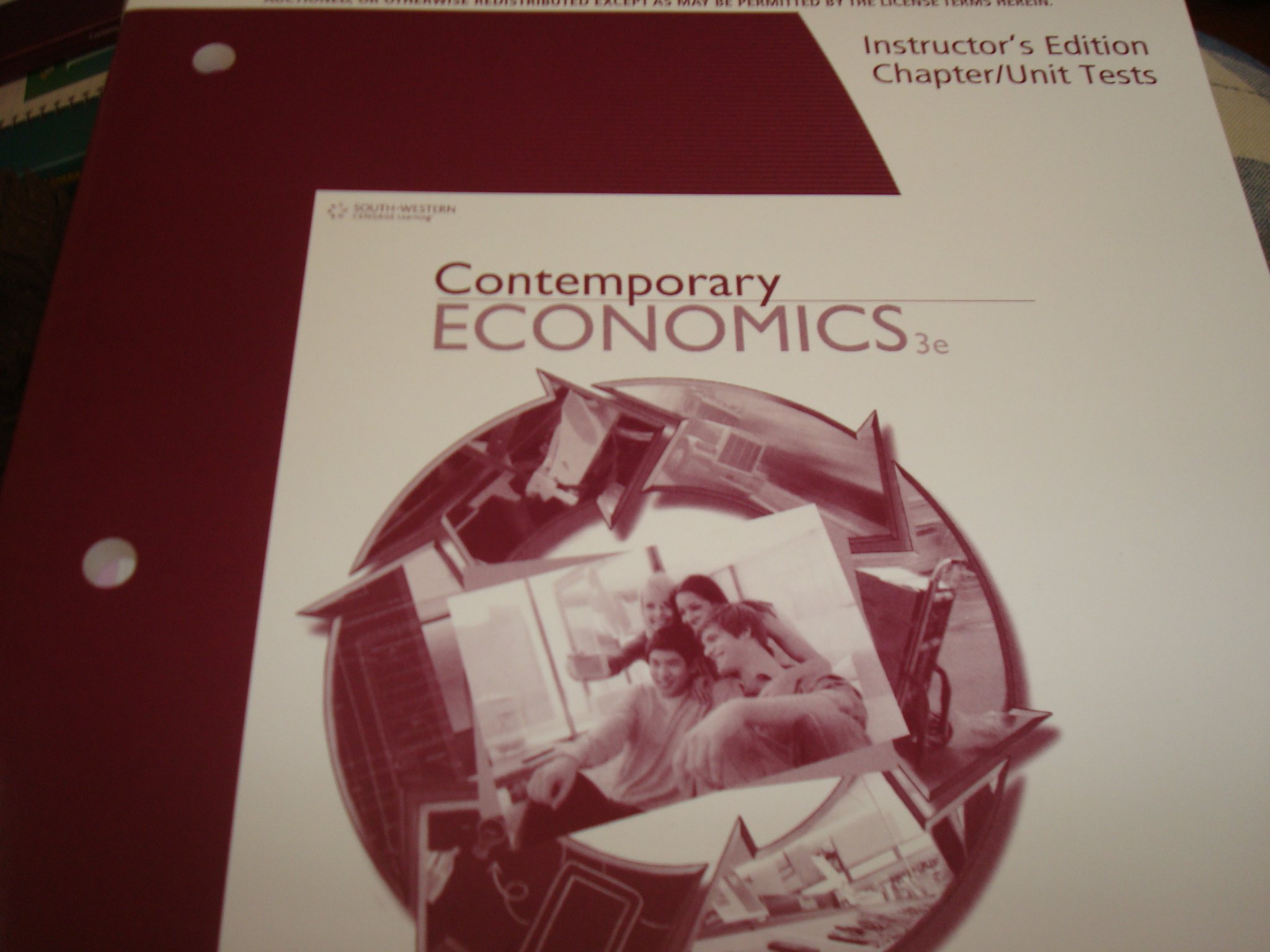 Contemporary Economics 3rd Edition: Instructor's Edition Chapter/Unit Tests pdf epub