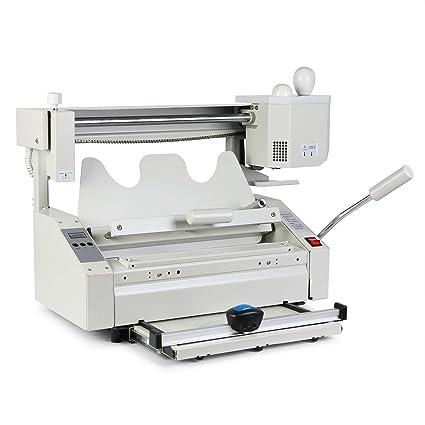 Happybuy 4-in-1 Manual Hot Glue Book Binder Binding Machine Manual Binder Binding