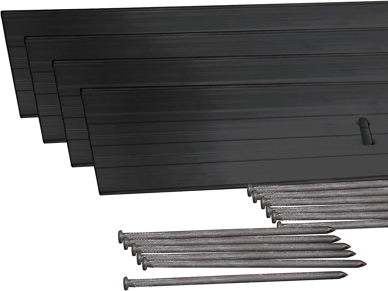 EasyFlex Aluminum Landscape Edging Project Kit Will Not Rust Like Steel
