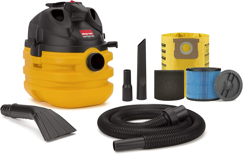 Shop-Vac 5 Gallon 6.0 Peak HP Portable Contractor Wet Dry Vacuum - 5870210