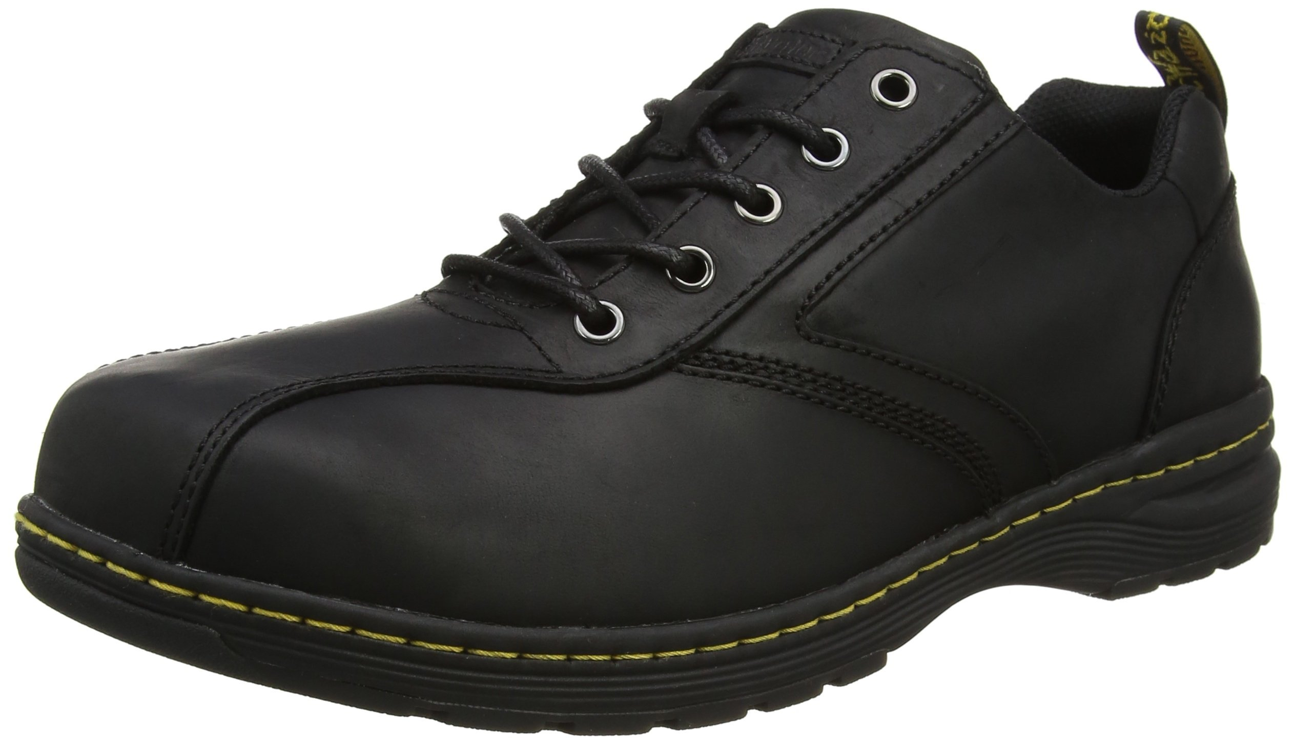 Dr. Martens Men's Greig Oxford Boot, Black Republic, 8 Medium UK (9 US) by Dr. Martens