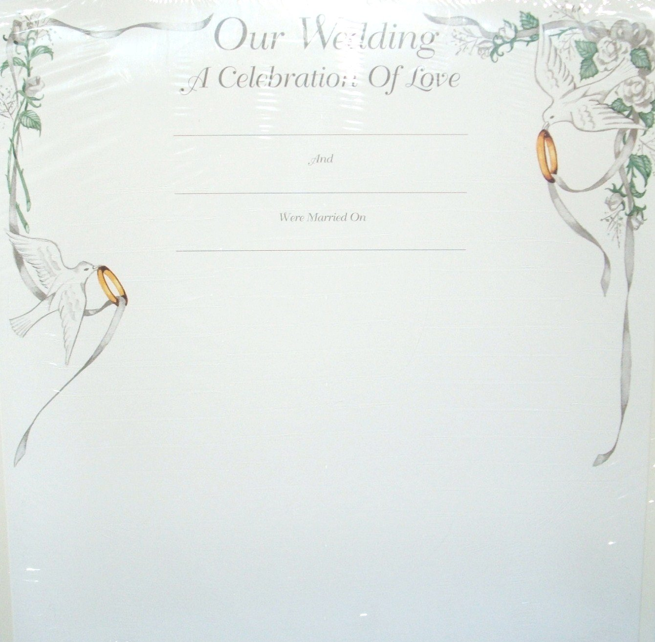 The Creative Memories Collection ''The Wedding Pages''