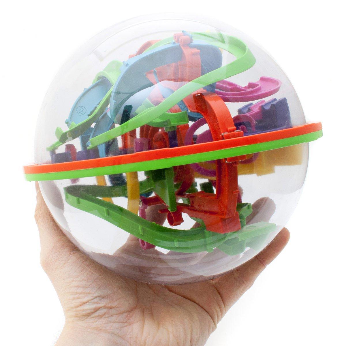3D Kugellabyrinth Kugelspiel Magic Maze Kugel-Labyrinth Puzzle Ball Geschicklichkeitsspiel 20cm XXL Goods & Gadgets