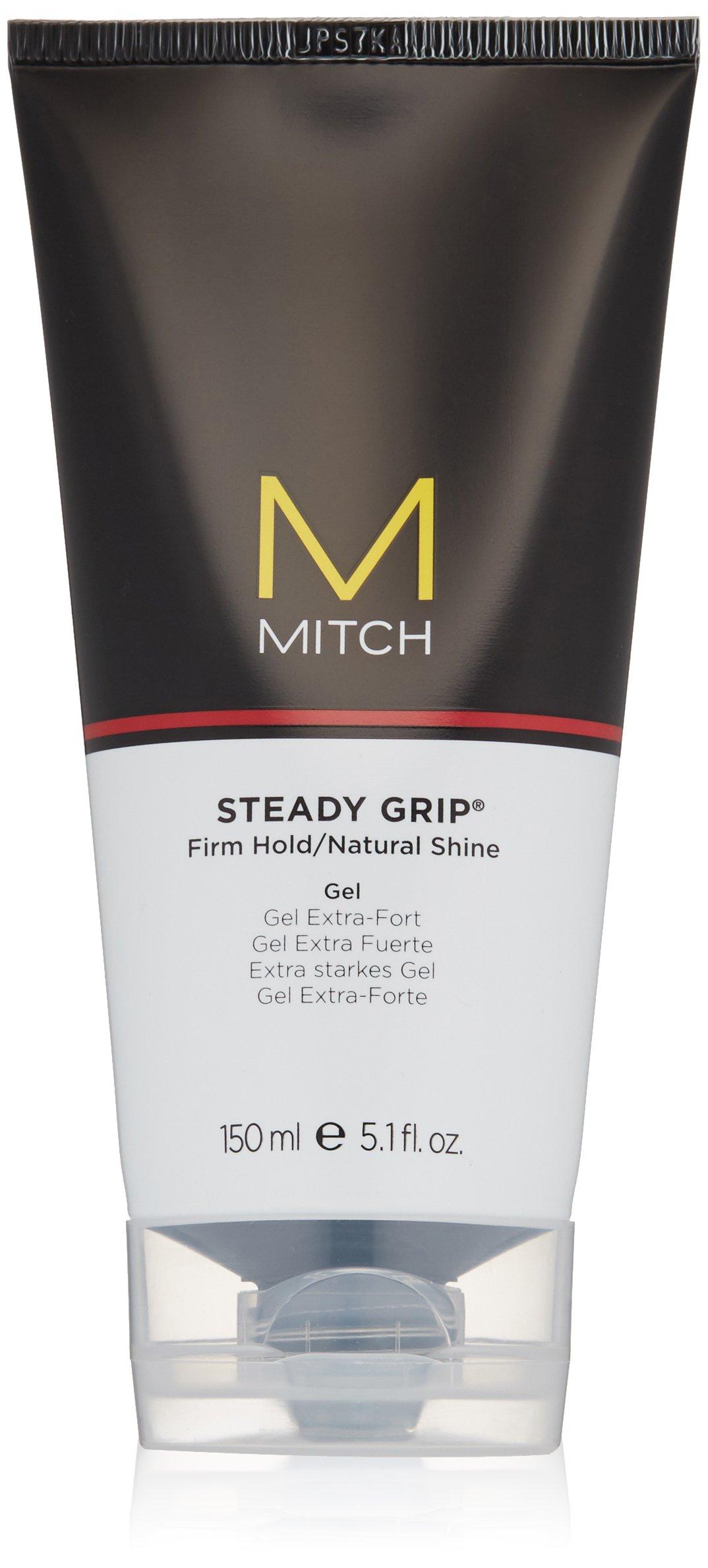 Amazoncom Mitch Steady Grip Hair Gel Luxury Beauty