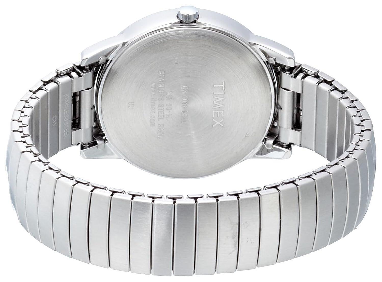 Timex , Homme , T2H451 , Heritage Easy Reader , Quartz Analogique , Blanc ,  Argent , Acier Inoxydable Timex Amazon.fr Montres