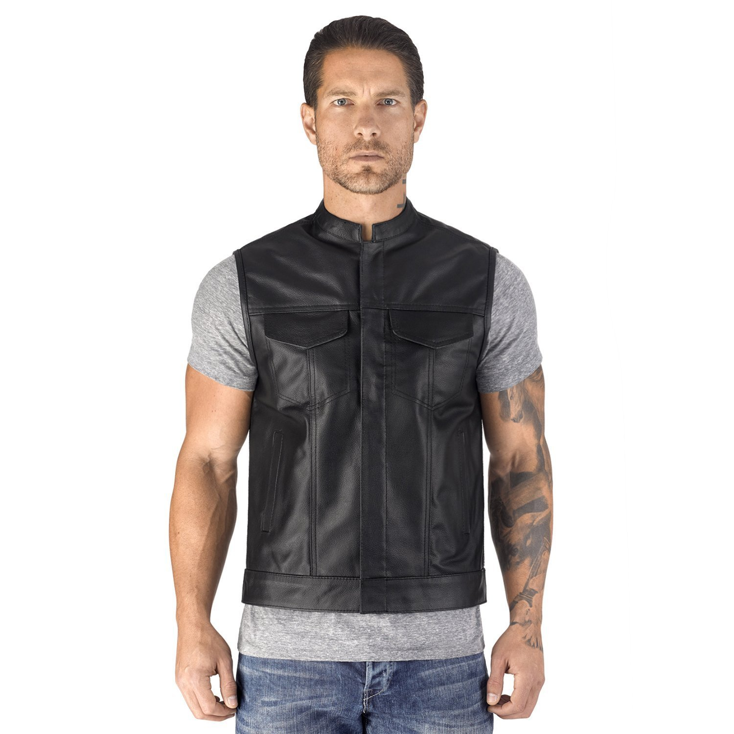 Viking Cycle Gardar Motorcycle Vest Men