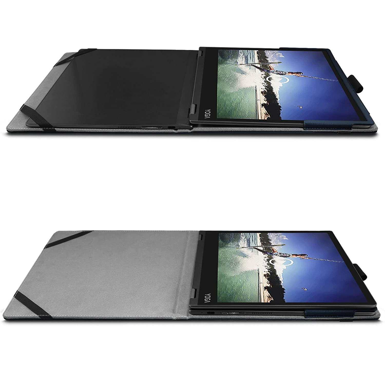 Infiland Lenovo Yoga A12 Funda Case, Folio PU Cuero Cascara ...