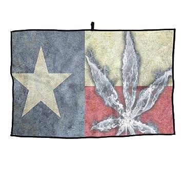Juego Life Texas Marijuana Hoja Personalizada Toalla de Golf Toalla de Microfibra Toalla de Deporte: Amazon.es: Hogar