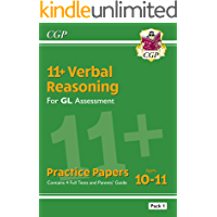 11+ GL Verbal Reasoning Practice Papers: Ages 10-11 - Pack 1 (with Parents' Guide): superb eleven plus preparation from…