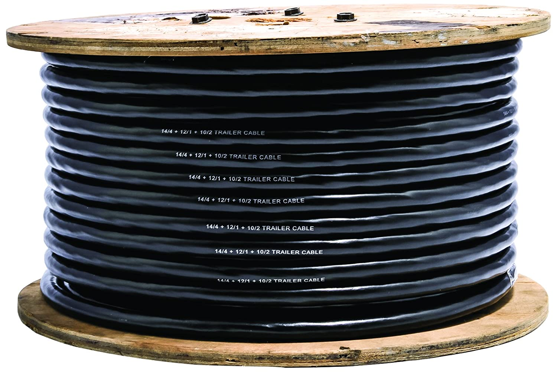 Amazon.com: Camco 64676 250\' Spool 7-Conductor Multi-Gauge Trailer ...