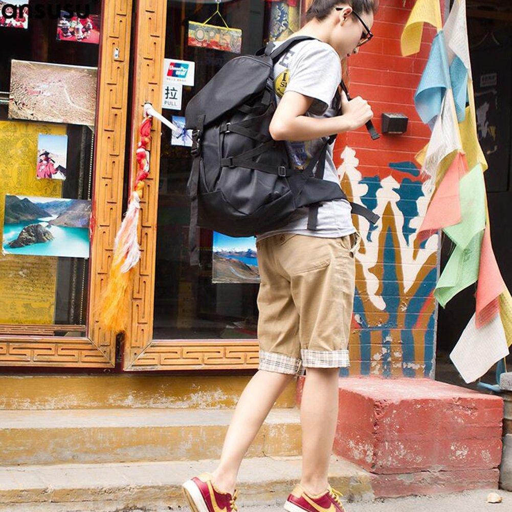 HQ Zaino Grande Capacità Studente Zaino Viaggio Borsa Del Del Del Computer Tempo Libero Formazione Escursione Unisex ( Coloreee   Nero )   Regalo ideale per tutte le occasioni    Primi Clienti  c48fcd