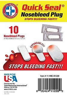 Amazon com: Nosebleed Plugs 50/pk: Health & Personal Care
