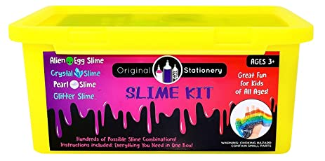 Amazon new slime kit stuff science supplies package new slime kit stuff science supplies package containers clay foam balls ccuart Images
