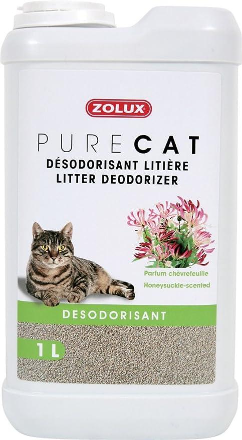 Zolux Pure Cat Ambientador para arena de gato, perfume de lavanda ...