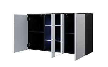 La Credenza Muebles : Muebles bonitos letti e mobili credenza modello luke a1 con led