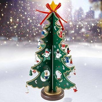 Amazon De Weihnachtsbaum Holz Deko Tannenbaum Klein Weihnachten