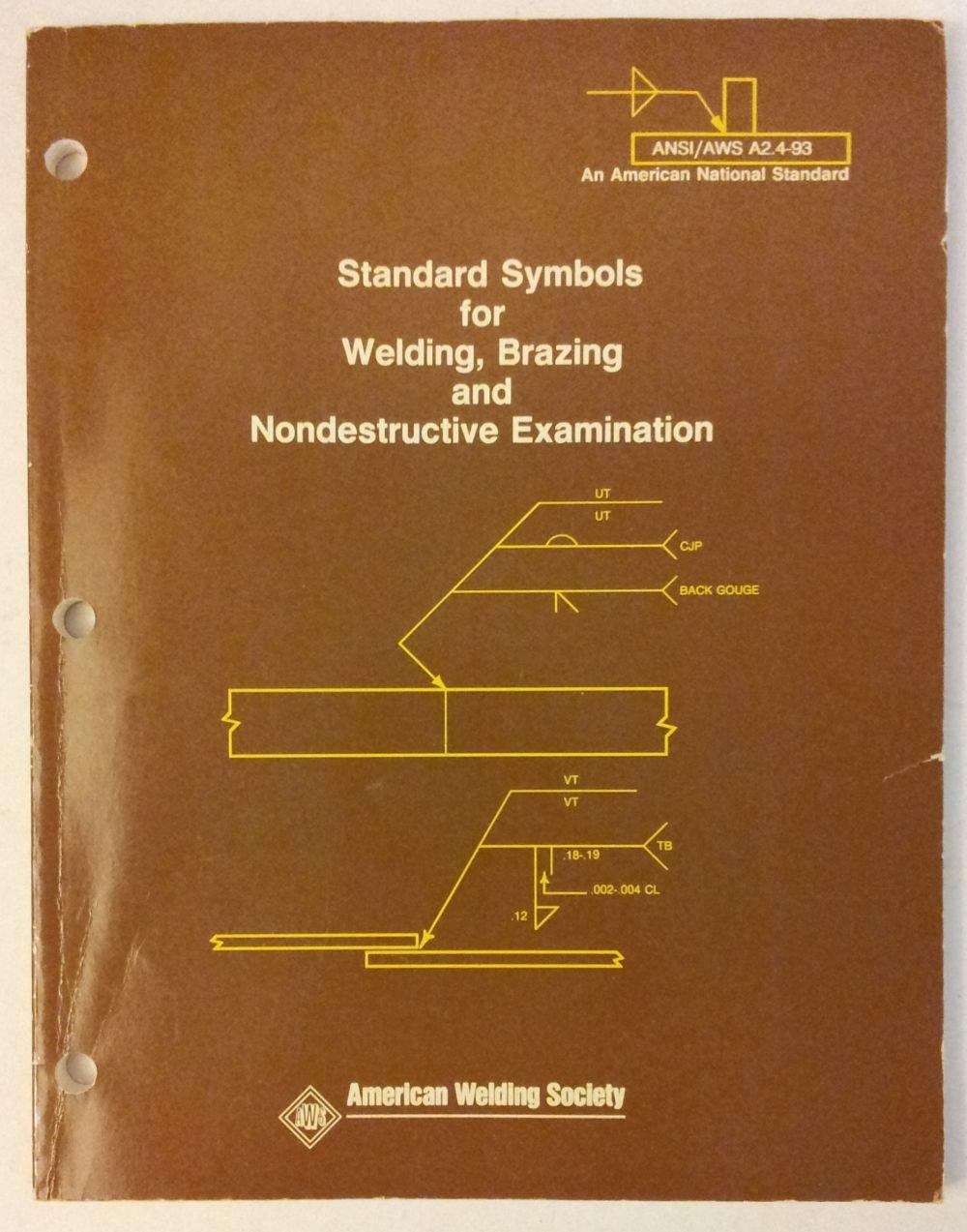 Standard symbols for welding brazing nondestructive examination standard symbols for welding brazing nondestructive examination a24 94 9780871713704 amazon books biocorpaavc Images