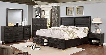 Amazon.com: Bailey Collection Contemporary Storage FB Plank ...