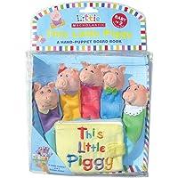 (进口原版) 小猪拇指偶布书(Little Scholostic系列丛书) This Little Piggy: A Hand-Puppet Board Book (Little Scholastic)