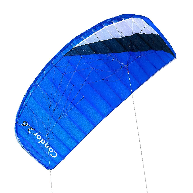 Qeedo - Condor 2.6 Power-Kite 2-Leiner Lenkmatte mit 260 cm Spannweite [Misc.]