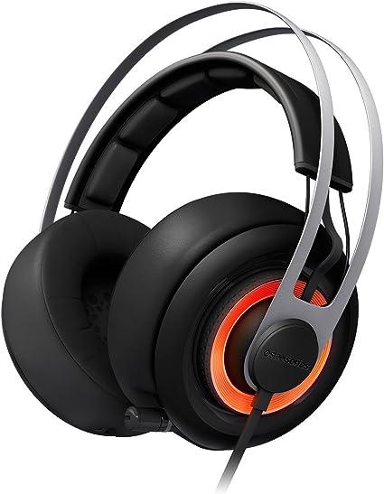 Amazon Com Steelseries Siberia Elite Headset With Dolby 7 1 Surround Sound Black Home Audio Theater