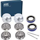 XiKe 2 Set Fits 3/4' inch Axles Trailer Wheel Hub Kit, Include LM11949/LM11910 Bearings, 11174TB Seal, OD 1.78' Dust…