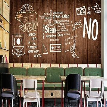 YBHNB Mural de Arte en 3D, Papel Tapiz en 3D Parrilla de ...